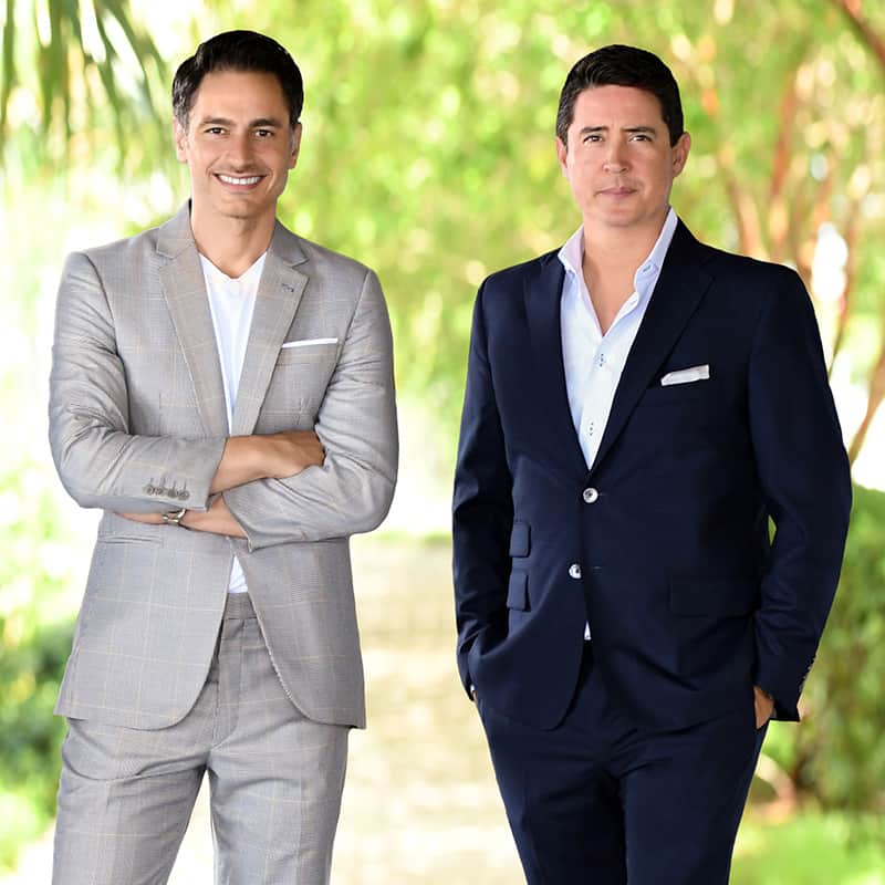 Best Miami Beach Luxury Real Estate Agents Michael Martirena and Ivan Chorney